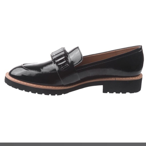 7b26745bc05 Franco Sarto Shoes - Franco Sarto black patent leather Loafers